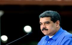 الصورة: الصورة: مادورو يبدي استعداده لإجراء استفتاء حول تنحيه عن السلطة