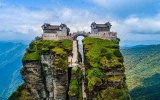 الصورة: الصورة: جبل فانجينغ.. إحدى عجائب آسيا الطبيعية