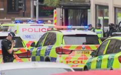 الصورة: الصورة: قتلى وجرحى في حادث طعن بمدينة غلاسكو باسكتلندا