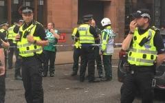 الصورة: الصورة: الشرطة البريطانية: حادث الطعن في غلاسكو ليس إرهابيا