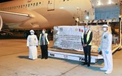 الصورة: الصورة: الإمارات ترسل طائرة مساعدات طبية وغذائية للبيرو