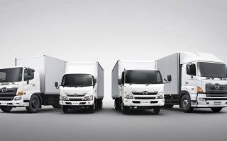 """الصورة: الصورة: 47 % حصة """"الفطيم هينو"""" من سوق المركبات التجارية اليابانية في الإمارات"""