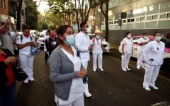 الصورة: الصورة: المكسيك تسجل أكثر من 200 ألف إصابة بكورونا والوفيات تتجاوز 25 ألفاً