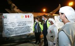 الصورة: الصورة: إجمالي المستفيدين من مساعدات الإمارات للطواقم الطبية عالمياً يشارف على المليون