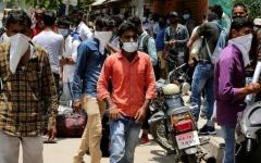 الصورة: الصورة: إصابات كورونا في الهند تتجاوز نصف مليون