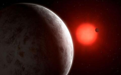 الصورة: الصورة: كواكب حول نجم قريب تفتح آفاق البحث عن دلائل الحياة خارج الأرض