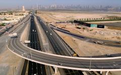 الصورة: الصورة: طرق دبي تفتتح الجسر المؤدي للمدخل الغربي لخور دبي بطول 740 متراً