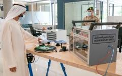 الصورة: الصورة: محمد بن راشد يفتتح مختبرات دبي للمستقبل