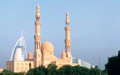 الصورة: الصورة: الإجراءات الاحترازية والوقائية عند الحضور إلى المساجد في الإمارات