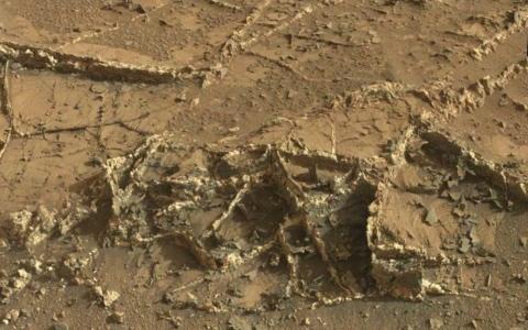 الصورة: الصورة: أنقاض مبان على المريخ تصيب العلماء بالذهول.. هل هناك كائنات أخرى؟