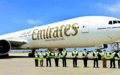 الصورة: الصورة: طيران الإمارات تستأنف خدمات الركاب إلى بيروت