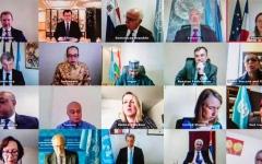 """الصورة: الصورة: قرار لمجلس الأمن ينادي بوقف إطلاق النار عالمياً لمكافحة """"كورونا"""""""