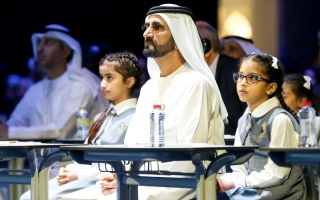 محمد بن راشد مهنئاً الطلبة: عام دراسي استثنائي شكل اختباراً لنا جميعاً ونجحتم فيه