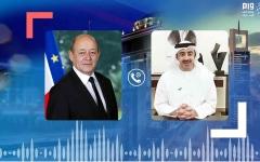 الصورة: الصورة: الإمارات وفرنسا ترفضان التدخل التركي في ليبيا