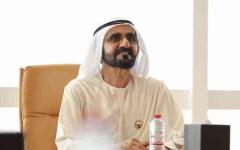 الصورة: الصورة: محمد بن راشد يُصدر قانوناً بشأن تنظيم الطائرات بدون طيّار في دبي