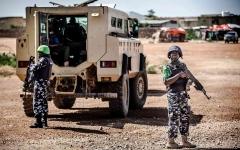الصورة: الصورة: 7 جرحى إثر اعتراض الشرطة الصومالية سيارة انتحاري