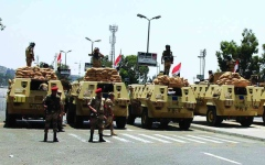 الصورة: الصورة: مقتل 4 إرهابيين استهدفوا مدنيين في سيناء