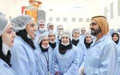 الصورة: الصورة: محمد بن راشد: نسعى لتأهيل واحتضان جيل جديد من علماء الفلك العرب