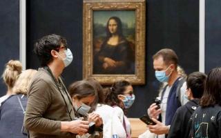 الصورة: الصورة: متحف اللوفر يعيد فتح أبوابه بعد إغلاق دام 16 أسبوعا