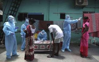 الصورة: الصورة: حي هندي فقير ومكتظ ينتصر على كورونا.. كيف نجح بالسيطرة على الفيروس!؟