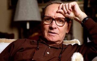 الصورة: الصورة: وفاة المؤلف الموسيقي الإيطالي الشهير إنيو موريكوني