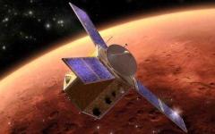 الصورة: الصورة: بلومبيرغ تشيد بالإمارات: مسبار الأمل أول مهمة عربية إلى المريخ