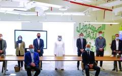 الصورة: الصورة: حمدان بن محمد: نعمل لتكون دبي مرجعية عالمية لتكنولوجيا الطباعة ثلاثية الأبعاد