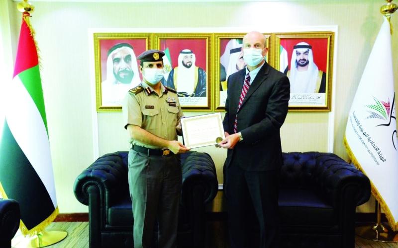 الصورة: الصورة: بحث التعاون الأمني بين الإمارات وأمريكا