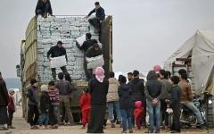الصورة: الصورة: فيتو روسي - صيني ضدّ تمديد آليّة المساعدات لسوريا عبر الحدود