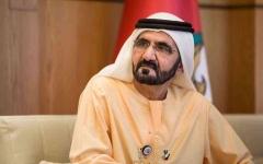 الصورة: الصورة: محمد بن راشد مدشناً تمديد الخط الأحمر لمترو دبي: هذه دبي.. نقول ما نفعل ونفعل ما نقول