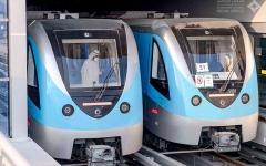الصورة: الصورة: محمد بن راشد يدشّن التشغيل الرسمي لمسار 2020 لمترو دبي بتكلفة 11 مليار درهم