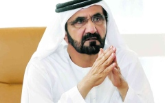 الصورة: الصورة: محمد بن راشد يُعدّل بعض أحكام قرار تشكيل «لجنة تطوير إجراءات تراخيص أعمال البناء في دبي»