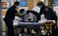 الصورة: الصورة: أمريكا تسجل 64 ألف إصابة جديدة و991 وفاة بكورونا