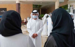 الصورة: الصورة: منصور بن محمد: رؤية محمد بن راشد الاستباقية عززت جاهزية دبي لمواجهة التحديات