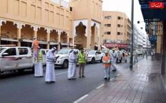 الصورة: الصورة: 8 تحديات واجهتها شرطة دبي خلال تعقيم منطقة نايف
