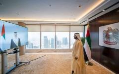 الصورة: الصورة: محمد بن راشد: حكومة الإمارات الأسرع استجابة للمتغيرات العالمية