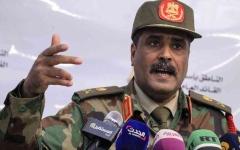 الصورة: الصورة: الجيش الوطني الليبي: فتح حقول النفط رهن بتنفيذ مطالب الشعب