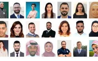 الصورة: الصورة: 22 متأهلاً إلى المرحلة النهائية لهاكاثون الشباب العربي