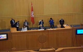 الصورة: الصورة: مشاورات برلمانية تونسية مكثفة لعزل الغنوشي