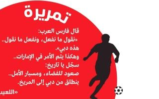 الصورة: الصورة: فارس العرب: «نقول ما نفعل، ونفعل ما نقول..هذه دبي»