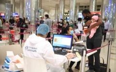 الصورة: الصورة: مطار دبي يستقبل أعداداً متزايدة من الزوار
