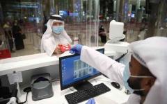 الصورة: الصورة: «البيان» تتابع استقبال مزيد من رحلات الطيران إلى المطار