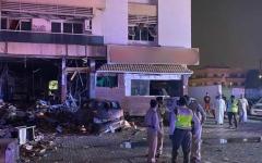 الصورة: الصورة: شرطة دبي: تسرب غاز أدى إلى انفجار في مطعم بالقصيص ولا إصابات