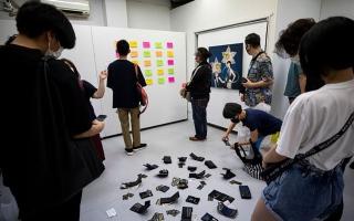الصورة: الصورة: بالفيديو.. معرض فني في طوكيو يشجع زواره على سرقته