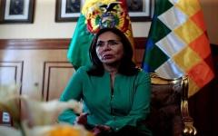 """الصورة: الصورة: إصابة وزيرة الخارجية البوليفية بـ """"كوفيد 19"""""""