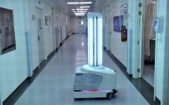الصورة: الصورة: دبي تستخدم الذكاء الاصطناعي في تعقيم منشآتها الصحية