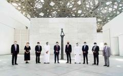 الصورة: الصورة: «اللوفر أبوظبي» يوفر تجربة آمنة لزواره وموظفيه