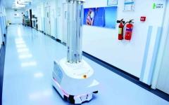 الصورة: الصورة: روبوتات لتعقيم  المنشآت الصحية في دبي