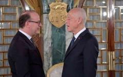 الصورة: الصورة: الرئيس التونسي يوقف مناورات «النهضة» بطلب الفخفاخ تقديم استقالته