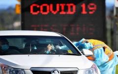 الصورة: الصورة: فيكتوريا الاسترالية تسجل أعلى إصابات يومية بكورونا منذ ظهوره